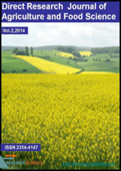 Direct Research Journal Of Agricultural And Food Science Kindcongress